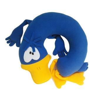 Подушка подголовник туристическая под шею Silenta Уточка Blue