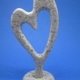 Фігурка, статуетка СЕРЦЕ (ЕКСКЛЮЗИВ) Акриловий камінь