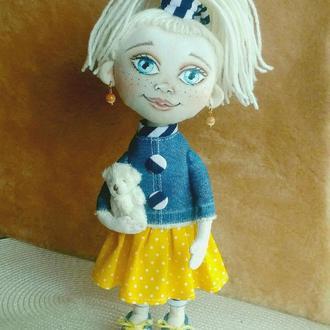 Интерьерная куколка Энни