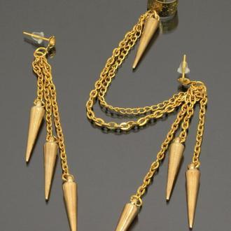 Кафф ′Золотые шипы′