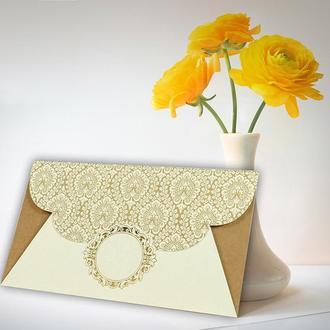 Пригласительные на свадьбу Sedef Cards, арт. 5618