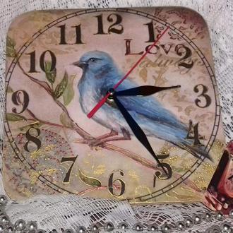 Часы-панно