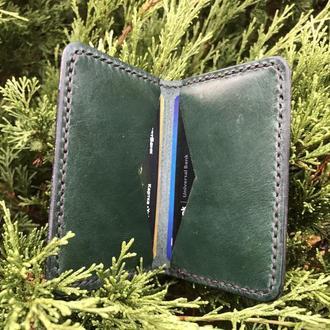 Визитница-кардхолдер из натуральной кожи (Leather Cardholder)