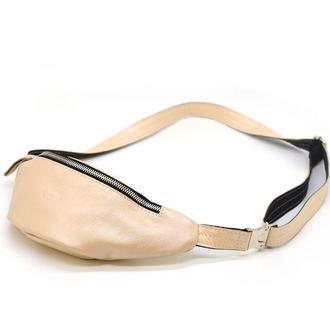 Женская маленькая напоясная сумка из натуральной кожи G5-3004-4lx TARWA