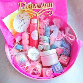 """Подарочный набор """"Нежность"""", именной подарок, для девушки, подруги, сестры, коллеги, дочери,  жены"""