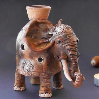 Аромалампа слон ароматерапия подарок
