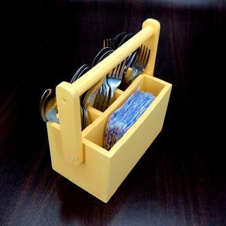 """Подставка для столовых приборов """"Сьюджо"""" лимонад"""