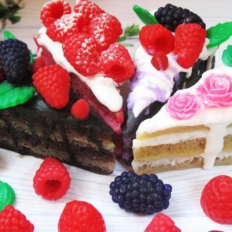 """Мыло  """"Кусочек торта"""""""