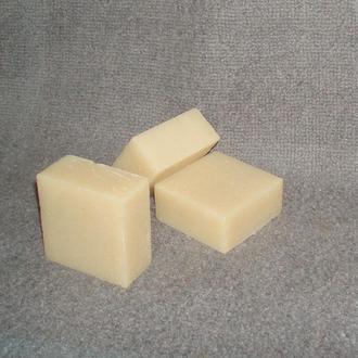 Натуральное оливковое мыло c нуля 100 гр, никакой мыльной основы