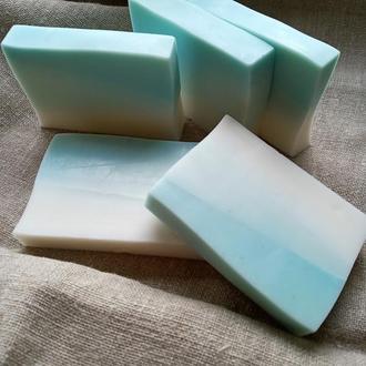 """Ароматное мыло """"Геометрия"""" с ароматом ванили и кокоса."""