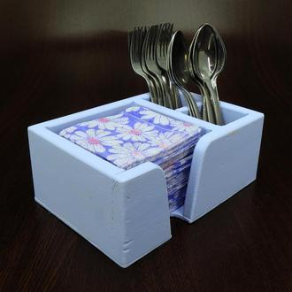 """Подставка для столовых приборов """"Аппетито"""" ирис"""