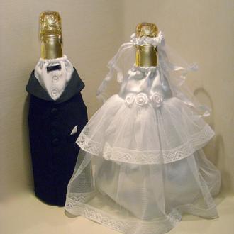 Свадебный наряд на шампанское