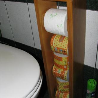 Напольный держатель для туалетной бумаги