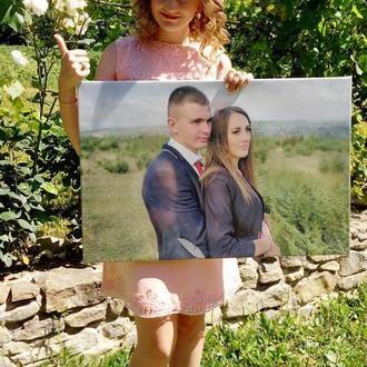 Фотокартина 50х70 (картина з фото, печать на холсте)