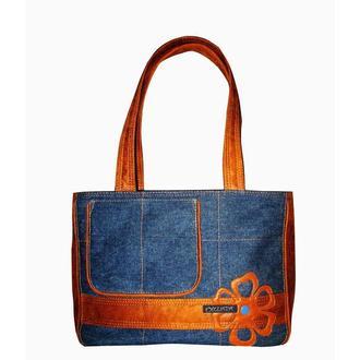 джинсовая сумка BIG