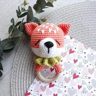 Погремушка-гризунець для младенцев, игрушка
