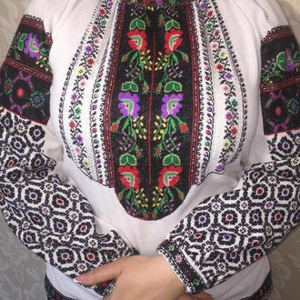 Борщевская рубашка. Женская блузка, вышиванка в борщевском стиле ТМ SavchukVyshyvka
