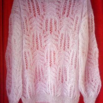 свитер с мохера медвежьи лапки