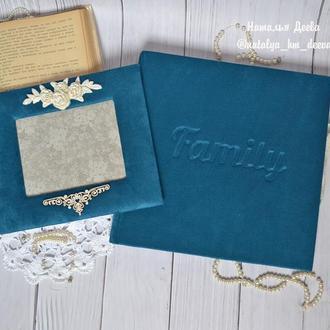 Шикарный набор рамочка для фото и фотоальбом