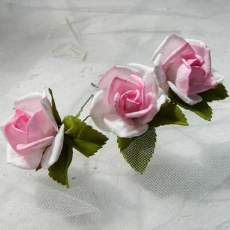 Роза на шпильке