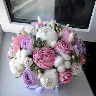 Цветы с конфет