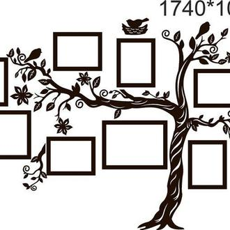 Панно на стену ′Дерево рамки декор 1740х1040 мм