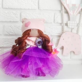 Кукла с рыжими локонами