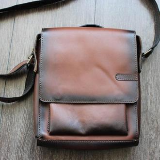 Кожаная сумка Sm-0006