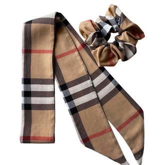 "Твилли, шарфик-галстук, "" Английский стиль,,"
