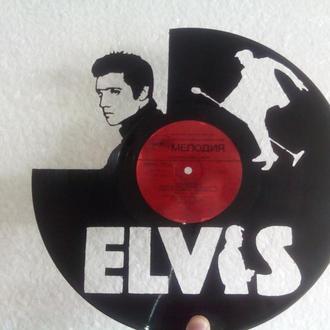 Циферблат Elvis Presley из виниловой пластинки
