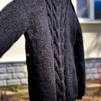 Плетений жіночий джемпер