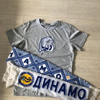 """Футболка с вышивкой """"Динамо Киев"""""""