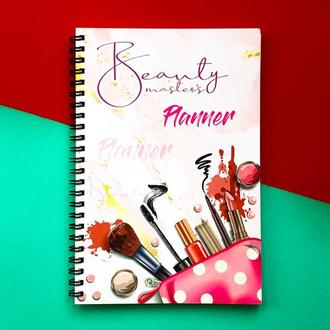 Планер Успешного Мастера Beauty Master's Planner Оттенки на год русский