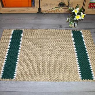 Коврик из джута 60х90 прямоугольный