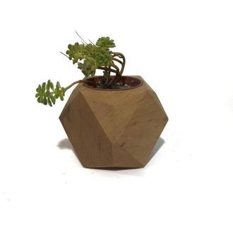 Деревянный горшочек, кашпо 5,5 см