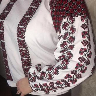 Борщевская рубашка. Стильная этно вышиванка ТМ SavchukVyshyvka.