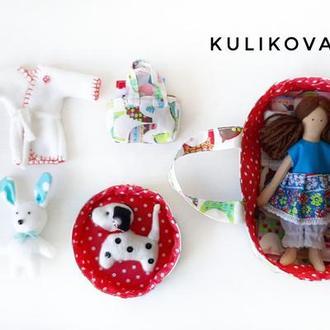 Игровой набор Кукла с платьями