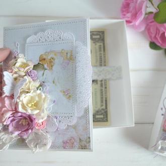 Свадебный коробочка для денег