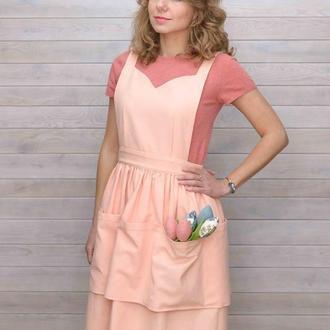 Фартук-платье флориста
