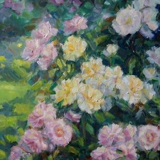"Картина ""Троянди"" купити київ україна"
