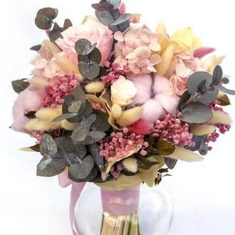 """Букет из стабилизированных цветов """"Flower mix"""""""