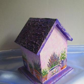 Чайный домик ′Лавандовый′ в стиле Прованс , оригинальный подарок