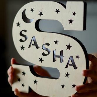 Ночник-буква Sasha