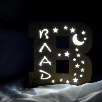 Светильник-буква Влад