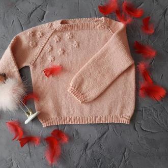 Вязанный детский свитер