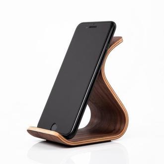 Phone Stand •Sign• - деревянная подставка для телефона