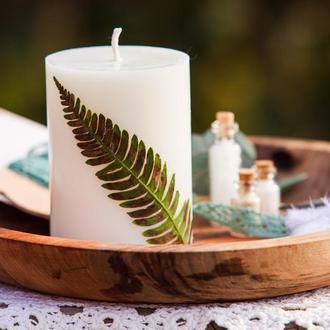 Натуральна свічка, свеча