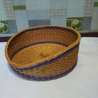 Лежак для собак и кошек (лежанка, домик)