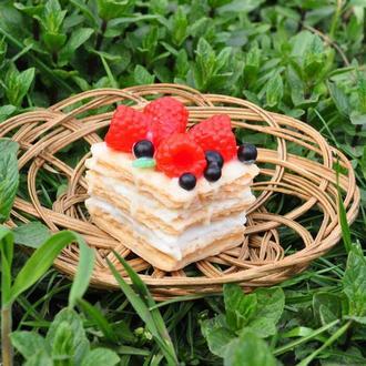 """Подарочное мыло десерт """"Наполеон"""""""