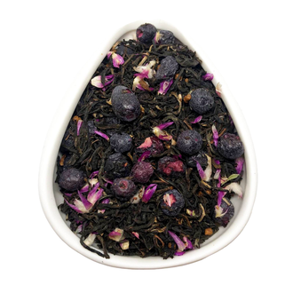 Черный чай голубика-ку цяо